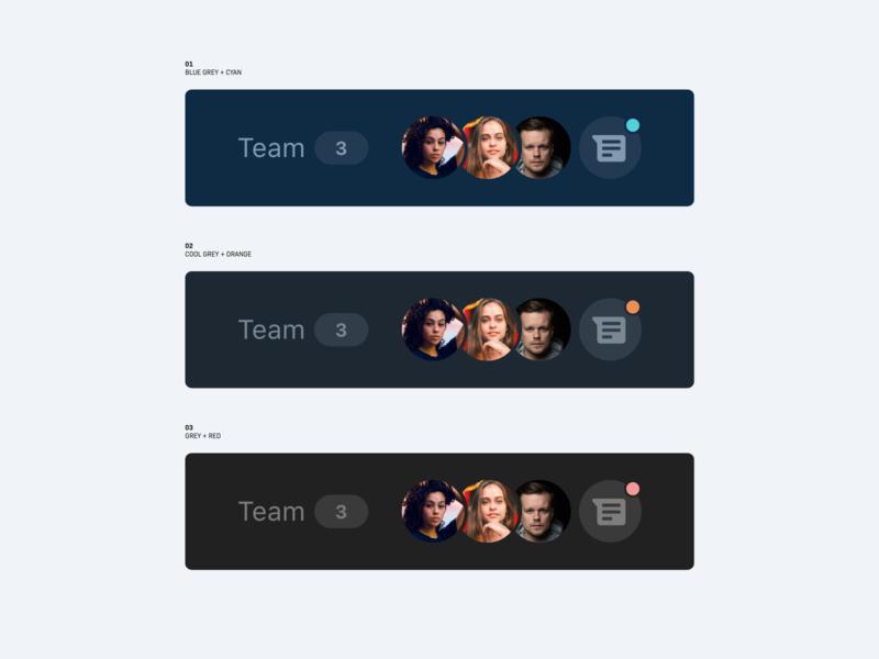 Publisher Software – Web App – Team & Chat Bar message messenger notification chat avatar team color scheme ui interface design clean minimal ux web app app dark dashboard user interface web application menu