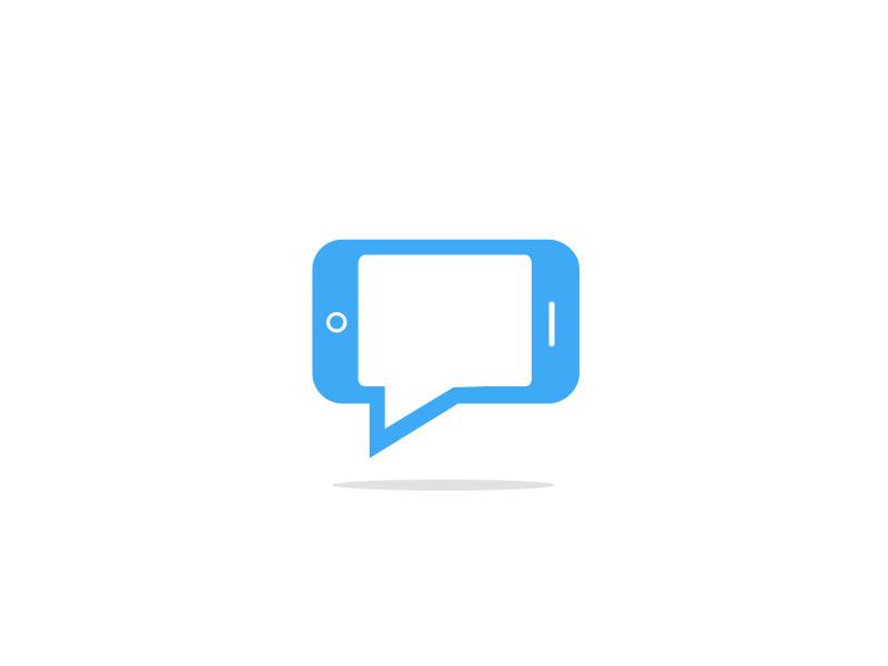 Mobile App Chat Logo by Jordan Price | Dribbble | Dribbble - photo#49