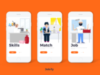 Jobify Onboarding Illustrations