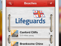 RNLI Beach Finder