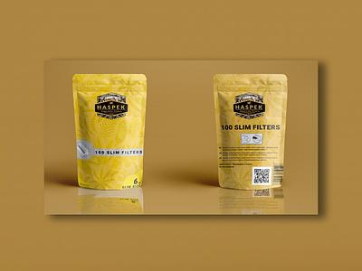 Разработка упаковки для табачной продукции Haspek logo illustration design branding