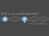 Social Icons Links