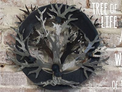 tree of life tree of life bayou view studio steel sculpture metal art