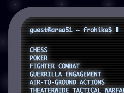 """CSS terminal """"emulator"""" ui css"""