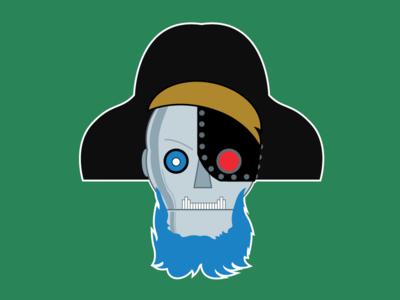 Robot Pirate reboot logo promo