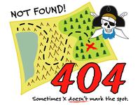DailyUI #008: 404 Page