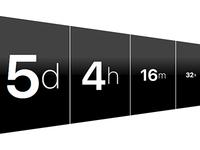 DailyUI #014: Countdown Timer