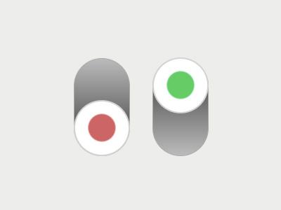 DailyUI #015: On/Off Switch 015 dailyui