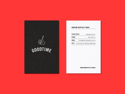 Goodtime Business Card