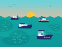 Deep Sea Fishing: Types of Boats
