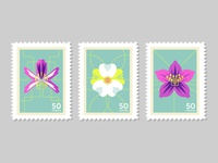 Postage Stamp Series