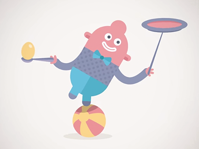 Headspace - How It Works animade animation character
