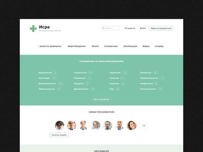 Medical Community Website