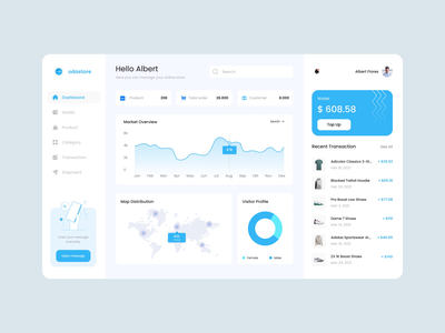 Odastore Dashboard Exploration dashboard template dashboard design dashboard app web website design uidesign clean ui clean animations animation design dashboard ui ui design ui light ui dark ui website web design dashboard animated animation