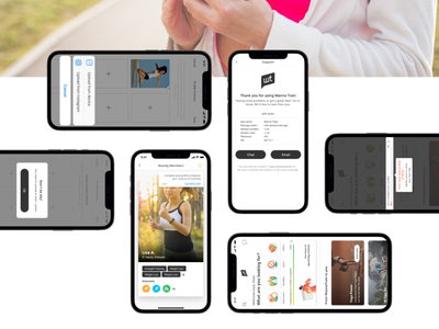 Wanna Train - Fitness Platform Design app savvycom