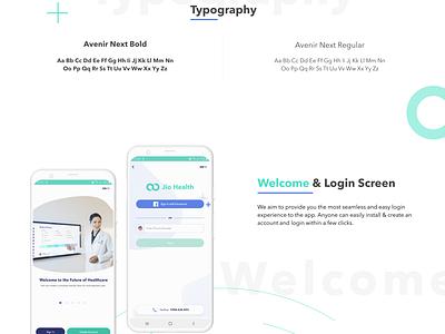 Jiohealth - Telemedicine Mobile App website web ux app ui savvycom