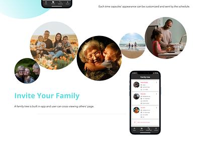 SkyThanks - Digital Time Capsules App typography illustration website web design ux ui savvycom app legacy digitaltimecapsules
