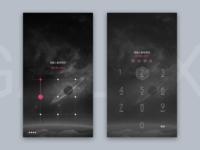 Unlock interface