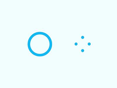 Spinner loading state motion graphics motion progress loading loading screen spinner icon homepage blue ui illustration website ux design flat animation gif