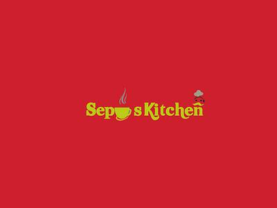 Sepu s Kitchen eye catching logo graphic design logo branding design unique logo logo cafe logo resturant logo