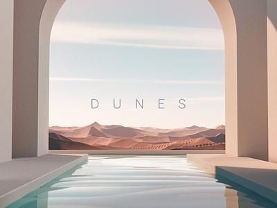 Dunes inspiration design concept icon logo branding ui illustration art
