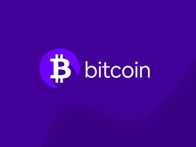 Bitcoin logo redesign concept design branding logo
