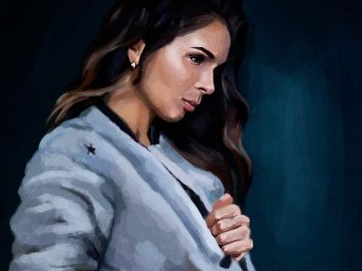 beautiful girl digitalillustration digitalart girl vector digital face painting image