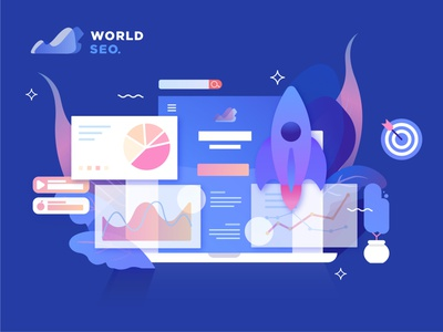 worldseome illustrator illustraion marketing desi flatdesign vector illustration vectorart dt design seo company seo services seo agency seo logo portrait picture image