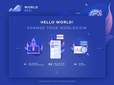 seo seo vector web ux branding design illustration logo ui icon image