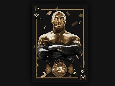 Michael Tyson boxing illustrator man portrait face illustration painting picture image