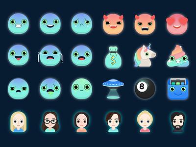 emojiexperts цифровой 2d art painting emojis emoticons emojiexperts vector illustration образ дизайн иллюстрация портрет лицо картина значок digital 2d