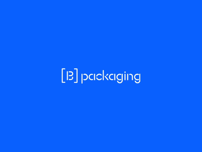 Bigso packaging box sweden type typeface stencil logo pack packaging