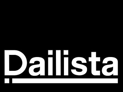 Dailista corporate classic strong type company construction logo