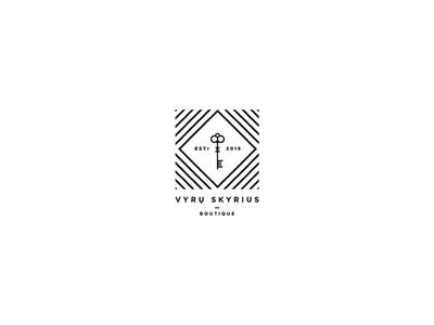 Logo for a man boutique