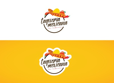 Mexican Food Place Logo