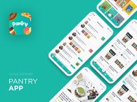 Pantry Mobile App UI/UX Design