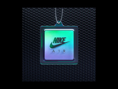 Nike Air Bubble Pack Tag air max trainers nike motion designer 3d motion 3d graphics 3d render octane octane render gradient irridescent motion graphics animation cinema 4d c4d cinema4d