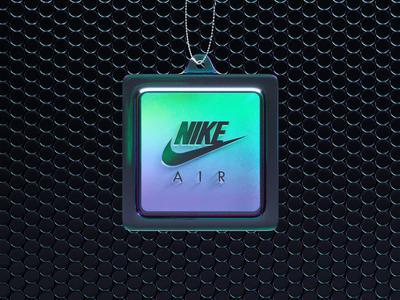 Nike Air Bubble Pack Tag air max trainers nike motion designer 3d motion 3d graphics 3d render octane octane render gradient irridescent motion graphics animation cinema 4d c4d cinema4d
