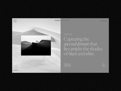 B/W Photography Layout Explorations portfolio serif typography clean minimalism bw photography fashion minimal interface ux web website ui web design