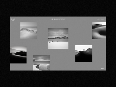 B/W Photography Layout Explorations portfolio serif typography clean minimalism bw photography fashion minimal interface ux web website ui web design