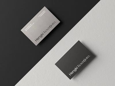 Unnecessary Business Card Presentation ⚫⚪ stationary octane render octane c4d animator cinema 4d motion graphics motion design animation design business cards