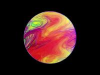 Paint Texture R&D 3d graphics 3d art motion designer motion design animation paint glitch texture rainbow colorful irridescent octane 3d cinema 4d cinema4d c4d