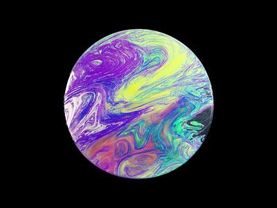 Paint Texture V2 glitch motion design motion animation digital 3d art 3d octane render octane cinema 4d cinema4d c4d