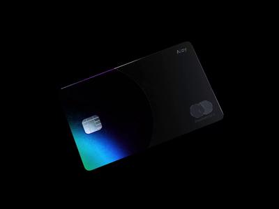 Alloy Card animator motion design animation banking gradient foil holographic iridescent octane c4d cgi cinema 4d 3d design 3d animation 3d credit card fintech finance bank card