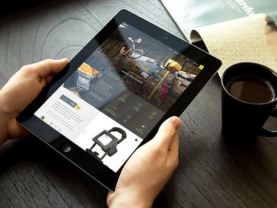 Flood-It Web Concept web website web design ui ux light rwd clean header sports interface dark