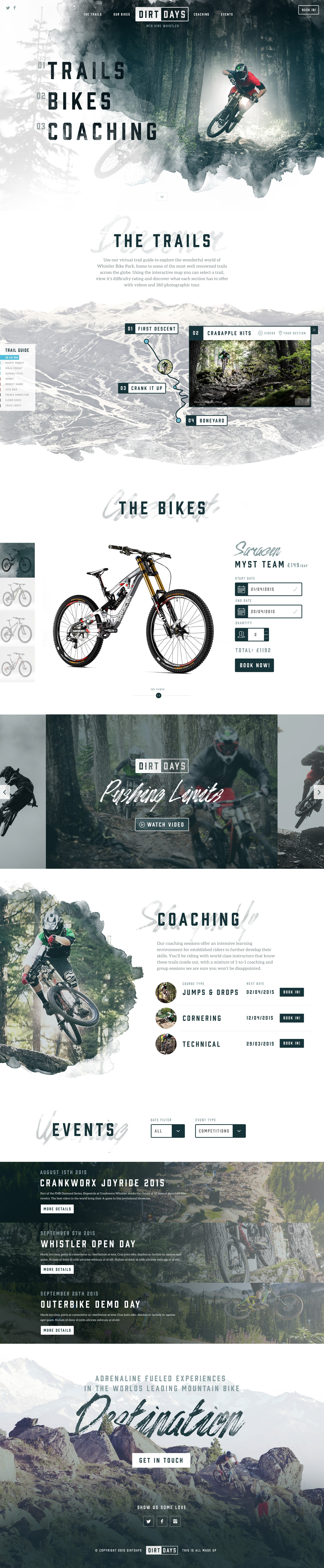 Dirtdays full concept