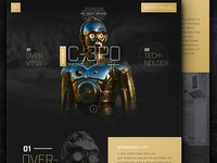 Star Wars C-3PO Droid Guide