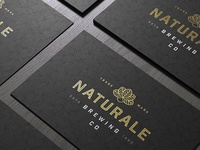 Naturale Brewing Co. Business Card Concept