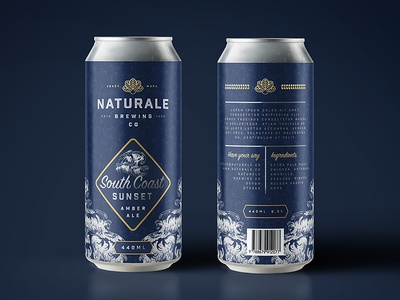 Naturale Brewing Co. Limited Edition Can Design