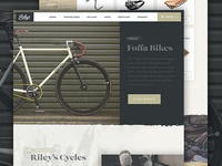 Riley's Cycles Website 2016